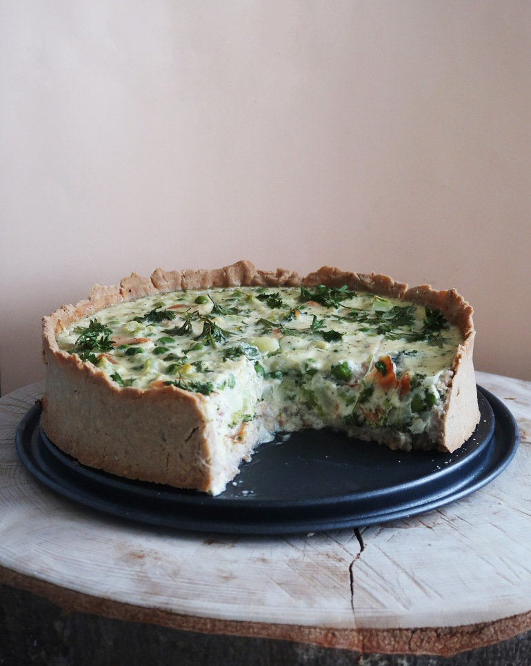 whateveryourpantry-broccoli-salmon-tart-1